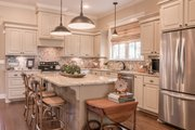 European Style House Plan - 3 Beds 2 Baths 2024 Sq/Ft Plan #430-168 Interior - Kitchen