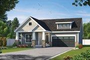 Craftsman Style House Plan - 2 Beds 2 Baths 1584 Sq/Ft Plan #20-2470
