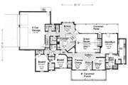 Farmhouse Style House Plan - 3 Beds 2.5 Baths 2540 Sq/Ft Plan #310-259 Floor Plan - Main Floor