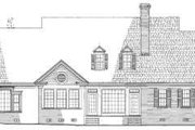 Southern Style House Plan - 5 Beds 3 Baths 4063 Sq/Ft Plan #137-231 Exterior - Rear Elevation