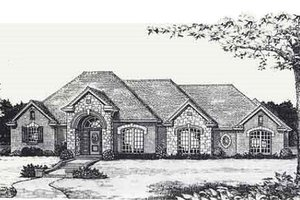Traditional Exterior - Front Elevation Plan #310-820