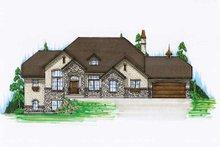 Home Plan - European Exterior - Front Elevation Plan #5-399