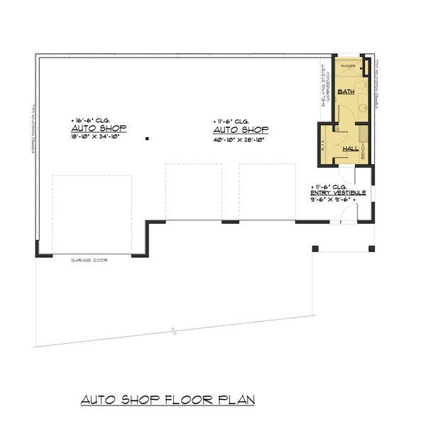 Traditional Floor Plan - Main Floor Plan #1066-99