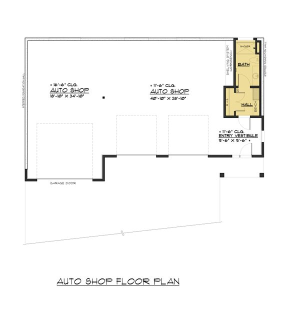 Traditional Floor Plan - Main Floor Plan #1066-99