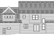 Traditional Style House Plan - 4 Beds 2.5 Baths 2947 Sq/Ft Plan #51-362 Exterior - Rear Elevation