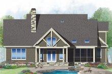House Plan Design - European Exterior - Rear Elevation Plan #929-1033