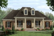 Dream House Plan - Southern Exterior - Front Elevation Plan #21-305