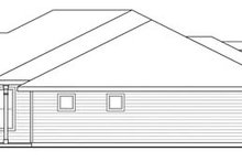 Prairie Exterior - Other Elevation Plan #124-847