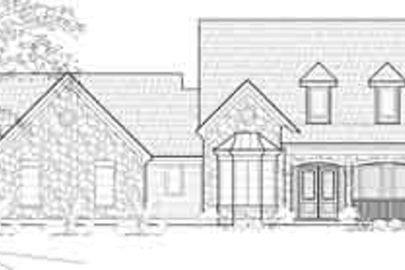 European Exterior - Front Elevation Plan #61-322 - Houseplans.com