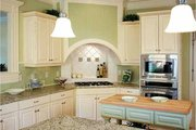 Victorian Style House Plan - 4 Beds 3.5 Baths 2772 Sq/Ft Plan #410-104 Interior - Kitchen