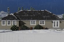 Home Plan - Ranch Exterior - Rear Elevation Plan #1060-13