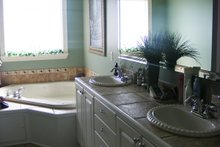 Southern Interior - Master Bathroom Plan #21-176
