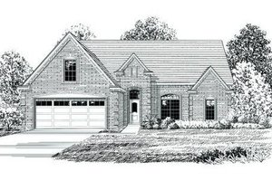 Traditional Exterior - Front Elevation Plan #424-104