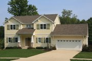 Farmhouse Style House Plan - 3 Beds 2.5 Baths 1964 Sq/Ft Plan #928-6 Exterior - Front Elevation