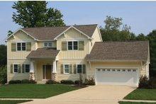 Farmhouse Exterior - Front Elevation Plan #928-6