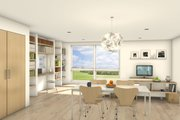 Modern Style House Plan - 2 Beds 1 Baths 1397 Sq/Ft Plan #497-59