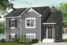 Country Exterior - Front Elevation Plan #23-2228