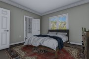 Traditional Style House Plan - 4 Beds 3 Baths 2138 Sq/Ft Plan #1060-54 Interior - Master Bedroom