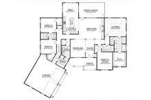 Ranch Floor Plan - Main Floor Plan Plan #1071-13