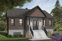 Country Exterior - Front Elevation Plan #23-2730