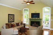 Traditional Style House Plan - 3 Beds 3 Baths 2097 Sq/Ft Plan #56-164 Interior - Family Room