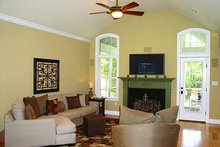 Home Plan - Traditional Interior - Family Room Plan #56-164
