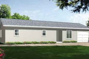 Traditional Exterior - Front Elevation Plan #1-767