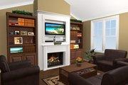 Craftsman Style House Plan - 3 Beds 2 Baths 1604 Sq/Ft Plan #21-344