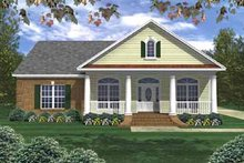 Home Plan - Southern Exterior - Front Elevation Plan #21-140