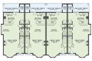 European Style House Plan - 2 Beds 2.5 Baths 1602 Sq/Ft Plan #17-2528 Floor Plan - Main Floor Plan