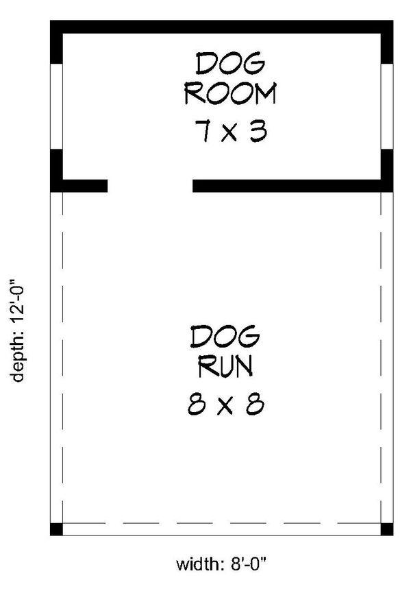 Country Floor Plan - Main Floor Plan Plan #932-298