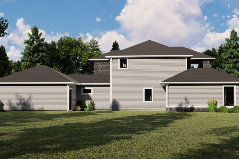 Home Plan - Modern Exterior - Other Elevation Plan #1064-19
