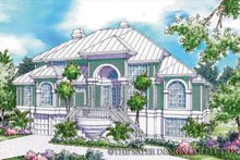 Country Exterior - Front Elevation Plan #930-33
