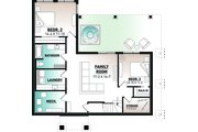 Contemporary Style House Plan - 3 Beds 2.5 Baths 2424 Sq/Ft Plan #23-2739