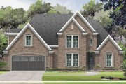 Traditional Style House Plan - 4 Beds 3 Baths 3052 Sq/Ft Plan #424-423 Exterior - Front Elevation