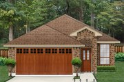 Traditional Style House Plan - 3 Beds 2 Baths 2026 Sq/Ft Plan #84-638 Exterior - Front Elevation