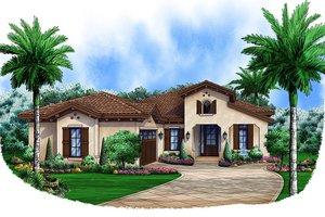 House Design - Southwestern style, front elevation