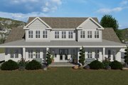 Farmhouse Style House Plan - 6 Beds 4.5 Baths 4658 Sq/Ft Plan #1060-48 Exterior - Front Elevation