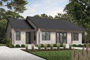 Modern Style House Plan - 2 Beds 2 Baths 1604 Sq/Ft Plan #23-2715