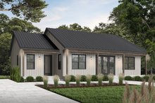 Architectural House Design - Modern Exterior - Front Elevation Plan #23-2715