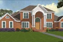Dream House Plan - Traditional Exterior - Front Elevation Plan #63-120