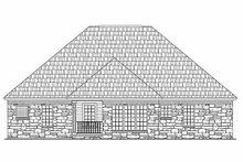 Dream House Plan - European Exterior - Rear Elevation Plan #21-185