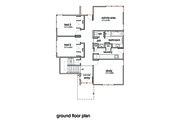 Modern Style House Plan - 3 Beds 2 Baths 2554 Sq/Ft Plan #496-20 Floor Plan - Upper Floor Plan