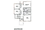 Modern Style House Plan - 3 Beds 2 Baths 2554 Sq/Ft Plan #496-20 Floor Plan - Upper Floor