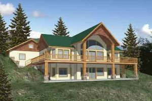 Country Exterior - Front Elevation Plan #117-272