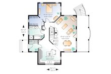 Canadian country style house plan