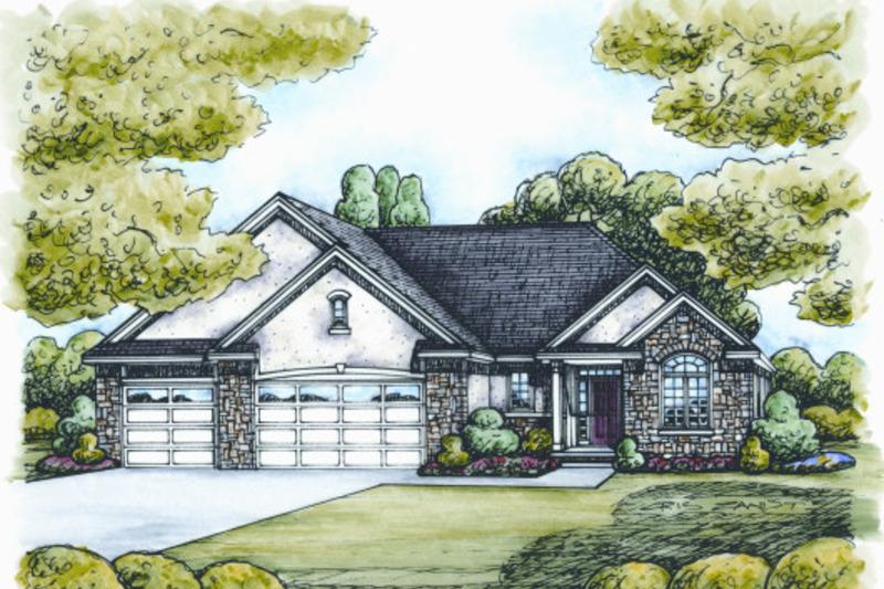 Traditional Photo Plan #20-2088 - Houseplans.com