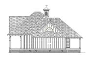 Cottage Style House Plan - 3 Beds 2 Baths 1565 Sq/Ft Plan #45-582 Exterior - Other Elevation