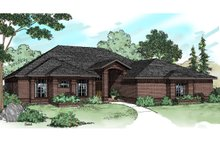 House Plan Design - Traditional Exterior - Front Elevation Plan #124-184