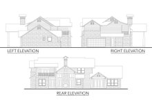 Dream House Plan - Craftsman Exterior - Other Elevation Plan #80-205